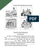 Write an account of experience on Teacher.docx
