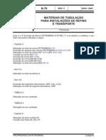 n-0076 - materiais de tubulação