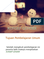 Presentasi Konsep Gender