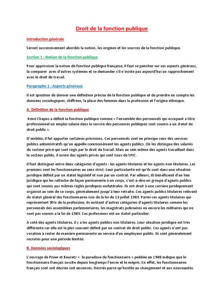 fe736df4af5 Droit de La Fonction Publique Bui Xan