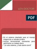 LEX-DOCTOR presentación