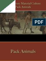 Transportation - Pack Animals