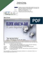 Aplikasi / Software Klinik Dokter Anak