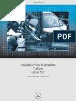 Manual Rescate en Mercedes-benz