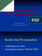 Issue Gender Di Pembangungan (Final)
