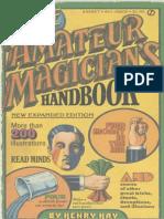 144819572 Hay Henry the Amateur Magician s Handbook PDF