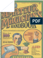 144819572 Hay Henry the Amateur Magician s Handbook PDF