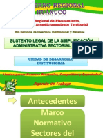 Base Legal Sectores