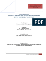 Convocatoria-Curso R 2013