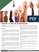 Internet | El valor de la información.