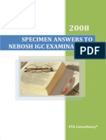 01 Specimen Answers to Nebosh Igc