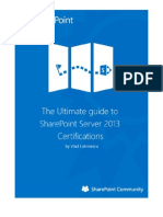 The Ultimate Guide to SharePoint Server 2013 Certifications V2