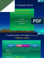 English Fundamental Part 2 (Passive Voice) by DjRay