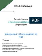 Talleres Educativos25_Información y Comunicacion en red