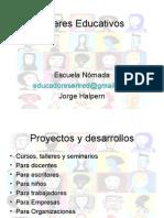 Escuela Nomada_proyectos y Desarrollos