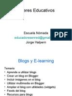 Talleres Educativos2_Blogs y Elearning