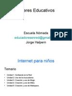 Talleres Educativos10_Internet para niños
