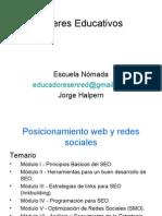 Talleres Educativos23_Posicionamiento Web y Redes Sociales