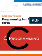 Programming in C for the DsPIC