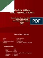 Status Ujian Mata