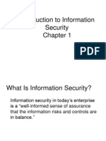 Critical Characteristics of Information In Information Security