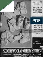 KNITTing - Greenock 304 - Bootees, Infantees and Shoes