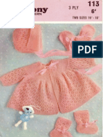KNIT - Harmony 113 - Matinee Set