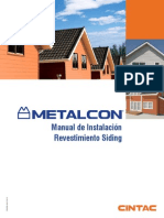 Manual Instalacion Revestimiento Metalico Siding
