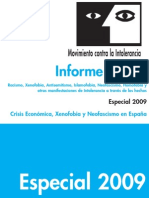 Informe Raxen 2009