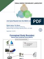 NGCC LCA - Final Report - Presentation - 9-10-12 - Final - V