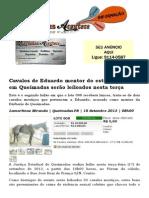Cavalos de Eduardo mentor do estupro coletivo em Queimadas serão leiloados nesta terça