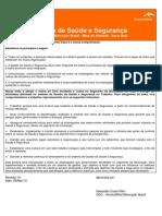 Política de SST AM-Mineração - 8-3-13 - Final