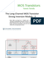 Lecture_Slides_The Long-Channel MOS Transistor - Strong-Inversion Models - 2