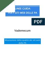 Vademecum Qualita Siti Web Acc