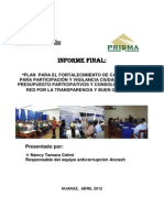 Informe Final Plan Anticorrupciòn Ancash II