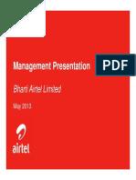 Bharti Management Presentation Vfc