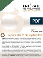 Boletin Globoinforma Septiembre 2013