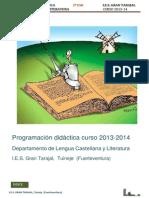 Programación LCL 2013-14- 2º ESO