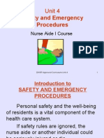 Unit 4-Safety and Emergency Procedures