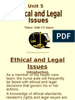 Unit 5-Ethical and Legal Issues
