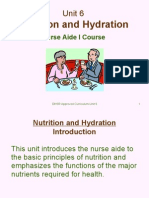 Unit 6-Nutrition and Hydration