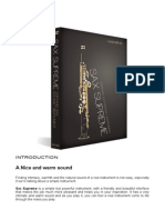 Sax Supreme Users Guide