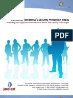 Janalent Windows 2008 Whitepaper - Security Enhancements