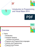 Starting Out w/Visual Basic 2012 Ch 01 PPT