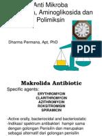 makrolida, aminoglikosida&polimiksingd