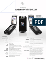 Blackberry Pearl Flip 8220 Specs