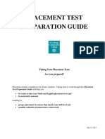 Placement Test Preparation Guides