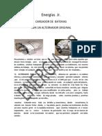 Manual de Cargador de Baterias