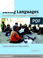 Lenore a. Grenoble Lindsay J. Whaley Saving_Languages an Introduction to Language Revitalization