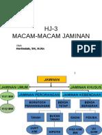 Hj 3 Macam Jaminan